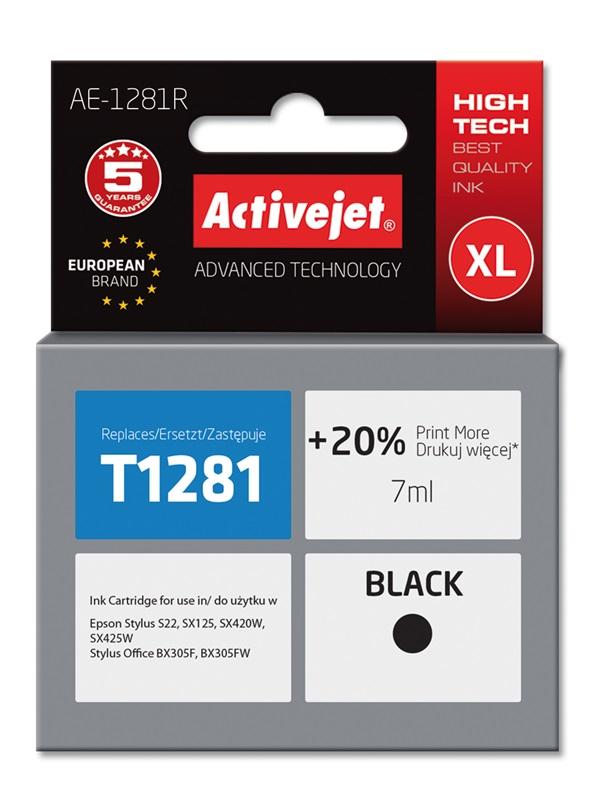 ActiveJet AE-1281R tusz czarny do drukarki Epson (zamiennik T1281)