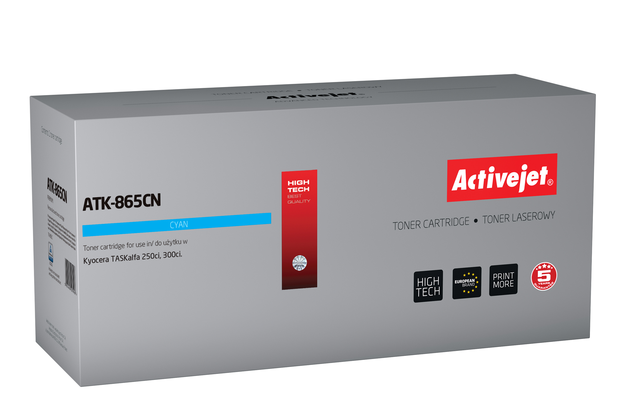 ActiveJet toner do Kyocera  TK-865C new ATK-865CN