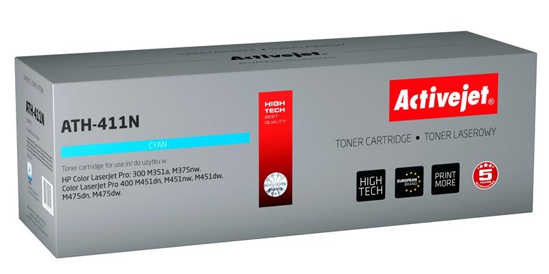 ActiveJet ATH-411N toner laserowy do drukarki HP (zamiennik CE411A)