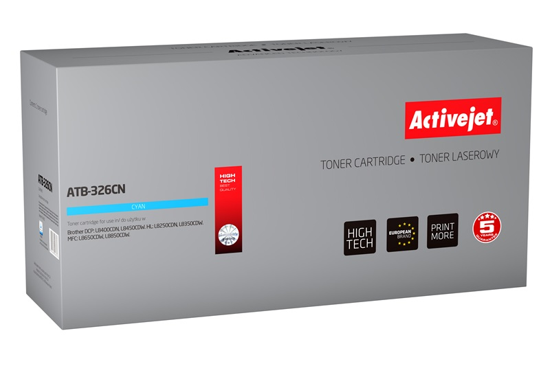 ActiveJet ATB-326CN toner Cyan do drukarki Brother (zamiennik Brother  TN-326C) Supreme