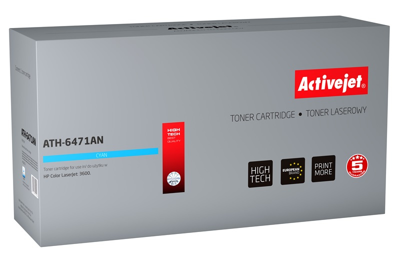 ActiveJet ATH-6471AN toner laserowy do drukarki HP (zamiennik Q6471A)